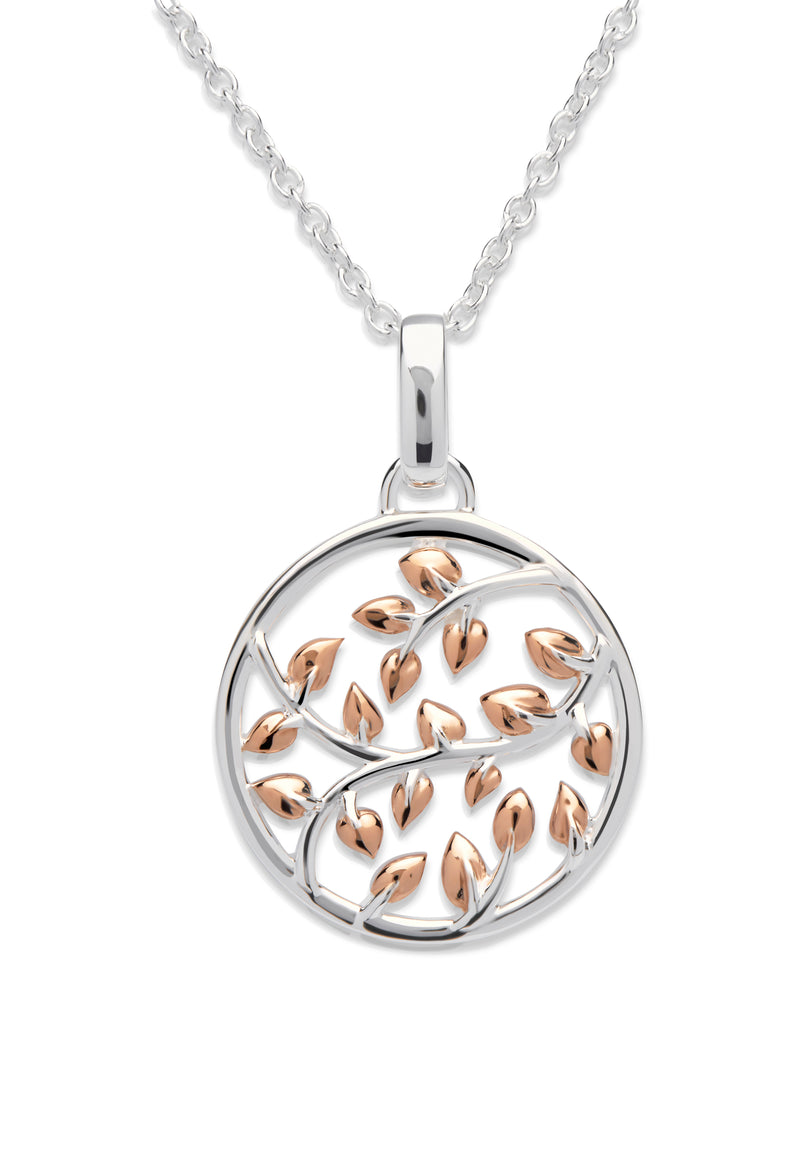 Unique & Co Ladies Sterling Silver Necklace MK-579 - Hamilton & Lewis Jewellery