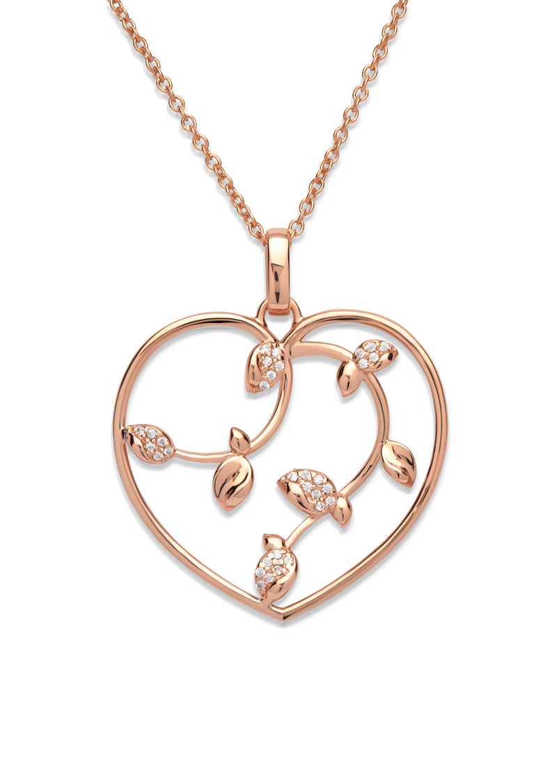 Unique & Co Ladies Sterling Silver Necklace MK-581 - Hamilton & Lewis Jewellery