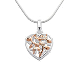 Unique & Co Ladies Sterling Silver Necklace MK-585 - Hamilton & Lewis Jewellery