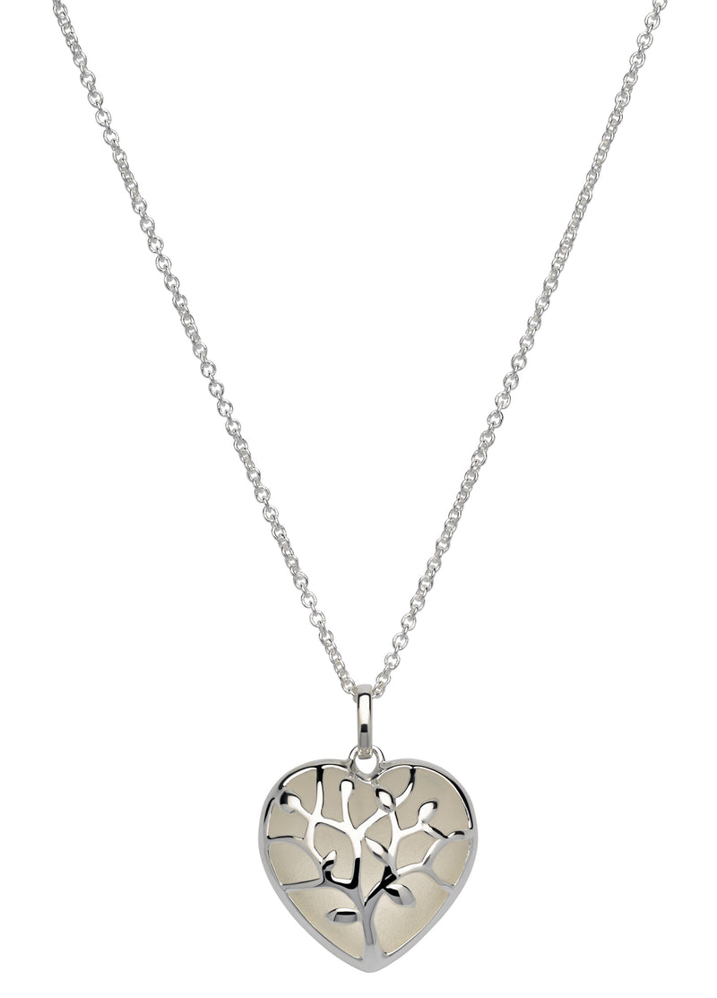 Unique & Co Ladies Sterling Silver Necklace MK-600 - Hamilton & Lewis Jewellery