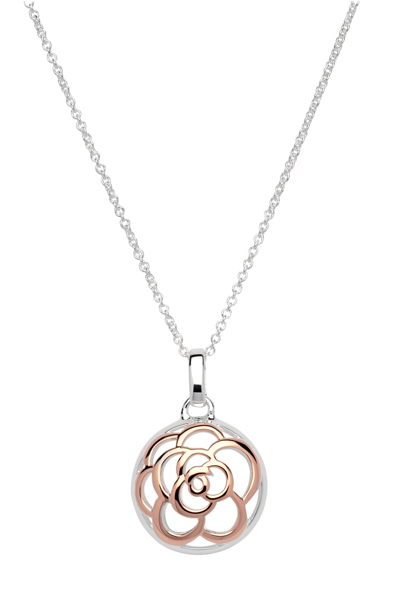 Unique & Co Ladies Sterling Silver Necklace MK-608 - Hamilton & Lewis Jewellery