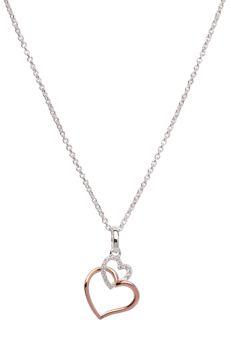 Unique & Co Ladies Sterling Silver Necklace MK-612 - Hamilton & Lewis Jewellery