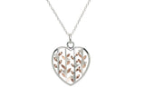 Unique & Co Ladies Sterling Silver Necklace MK-632 - Hamilton & Lewis Jewellery