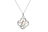 Unique & Co Ladies Sterling Silver Necklace MK-639 - Hamilton & Lewis Jewellery