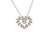 Unique & Co Ladies Sterling Silver Necklace MK-652 - Hamilton & Lewis Jewellery
