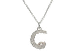 Unique & Co Ladies Sterling Silver Necklace MK-653 - Hamilton & Lewis Jewellery