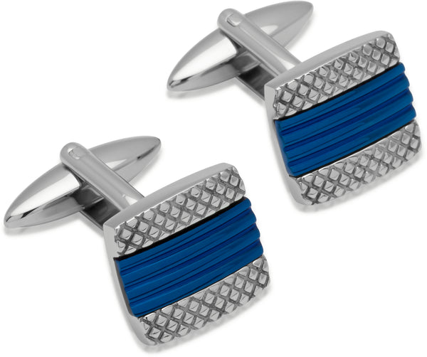 Unique & Co Steel Cufflinks QC-144
