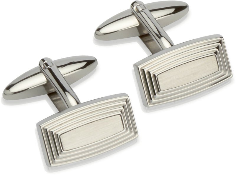 Unique & Co Steel Cufflinks QC-162