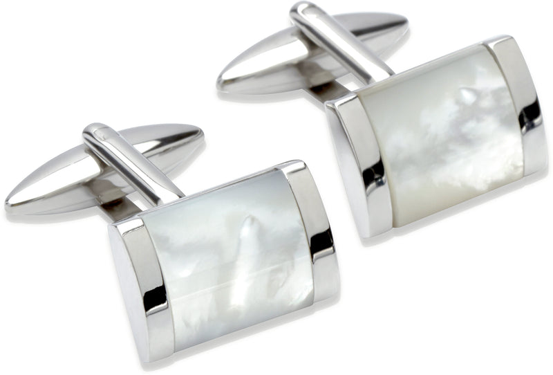 Unique & Co Steel Cufflinks QC-175 - Hamilton & Lewis Jewellery