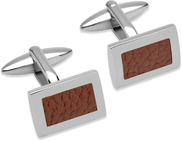 Unique & Co Steel Cufflinks QC-186 - Hamilton & Lewis Jewellery