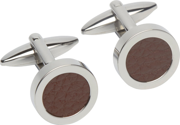Unique & Co Steel Cufflinks QC-200 - Hamilton & Lewis Jewellery