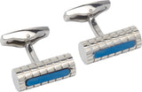 Unique & Co Steel Cufflinks QC-203 - Hamilton & Lewis Jewellery