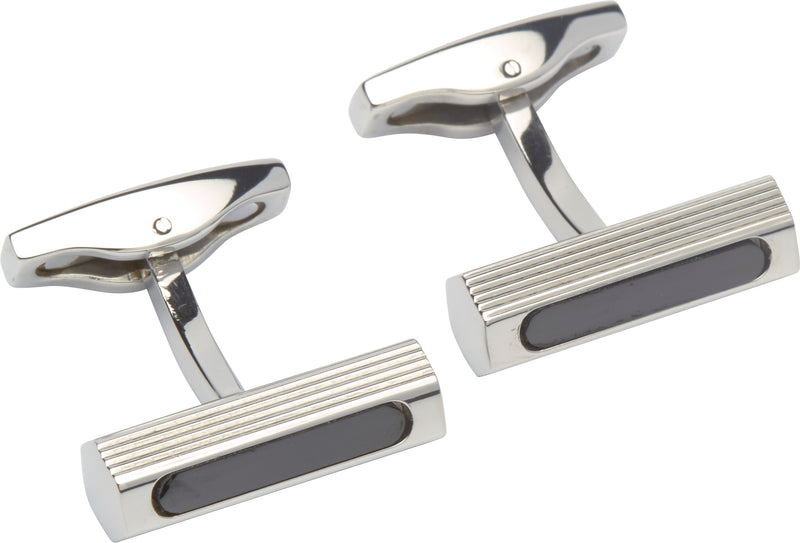 Unique & Co Steel Cufflinks QC-204 - Hamilton & Lewis Jewellery