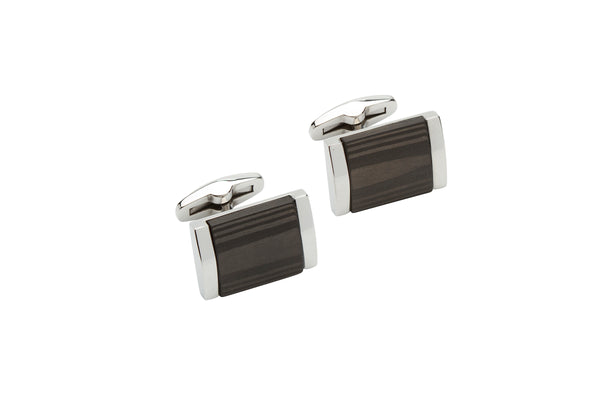 Unique & Co Steel Cufflinks QC-224