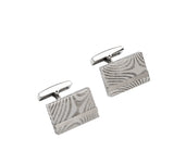 Unique & Co Steel Cufflinks QC-229 - Hamilton & Lewis Jewellery