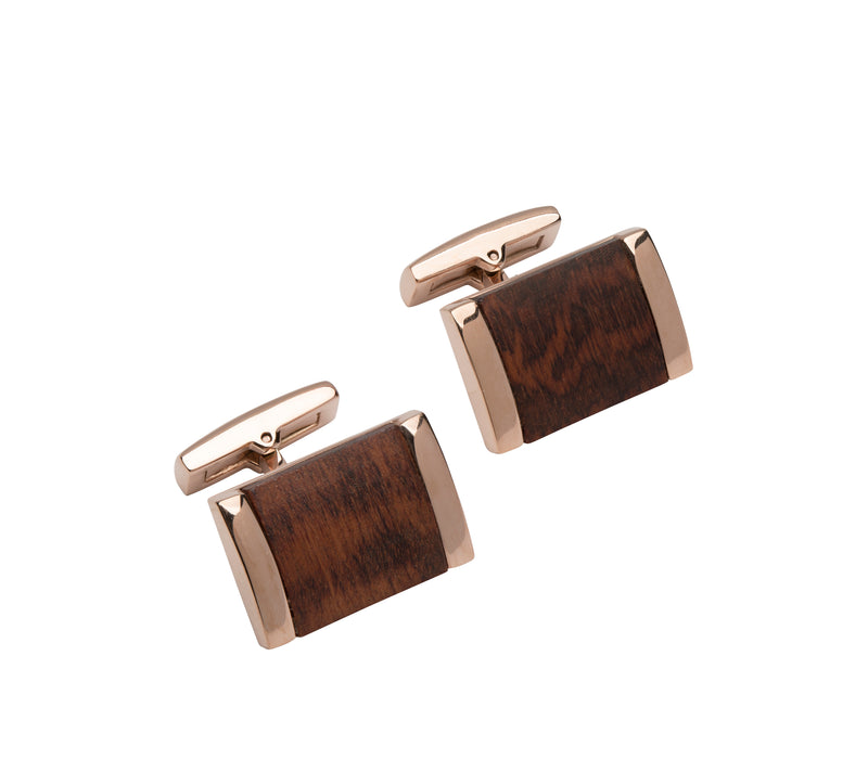 Unique & Co Steel Cufflinks QC-232 - Hamilton & Lewis Jewellery