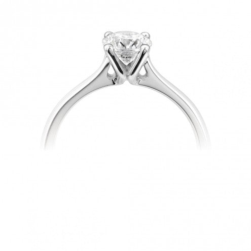 Round Four Claw Solitaire 0.25ct - 1.00ct - Hamilton & Lewis Jewellery