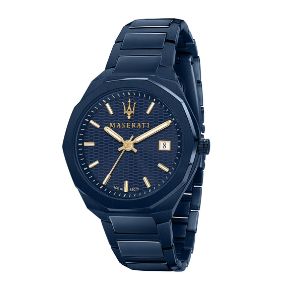 Maserati BLUE EDITION 42mm BLUE DIAL/BR Watch R8853141001