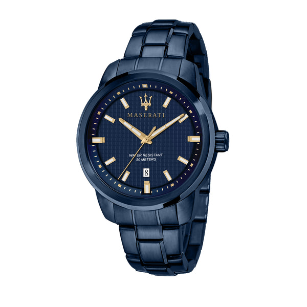 Maserati BLUE EDITION 44mm BLUE DIAL/BR Watch R8853141002
