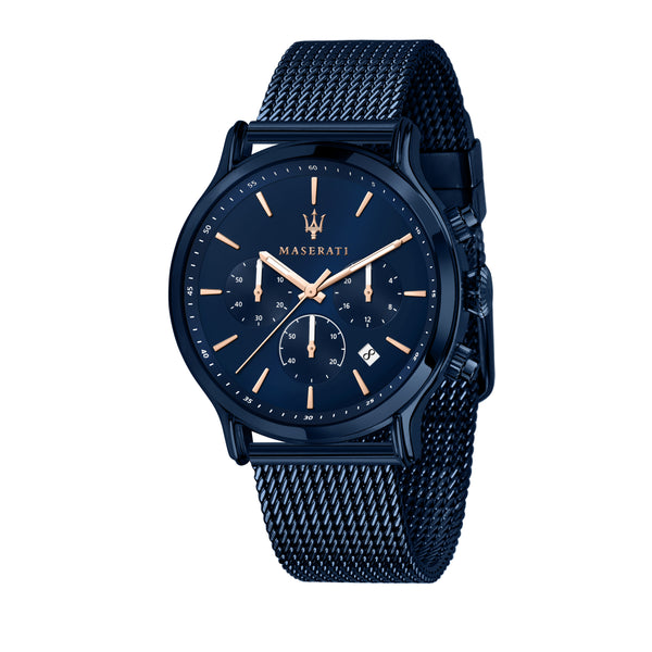 Maserati BLUE EDITION 42mm BLUE DIAL/Mesh BR Watch R8873618010