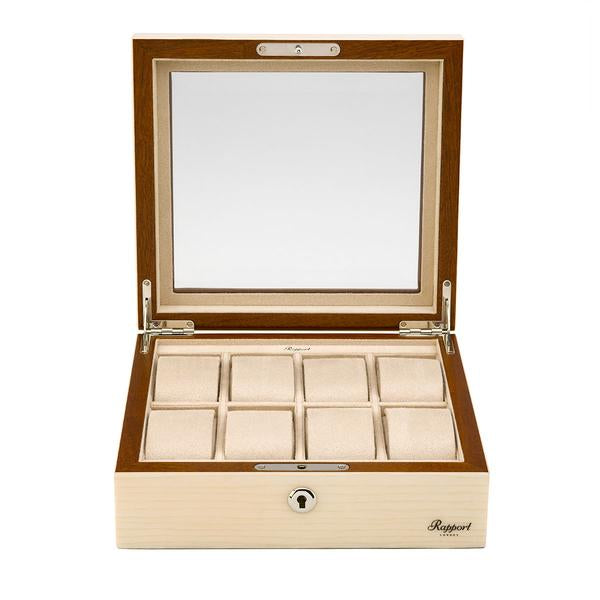 Rapport Optic 8 Watch Box L428 - Hamilton & Lewis Jewellery