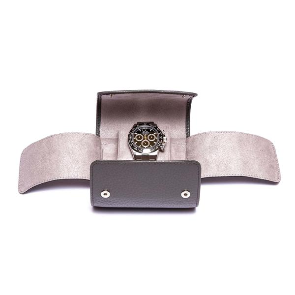 Rapport Berkeley Single Grey Watch Roll D192 - Hamilton & Lewis Jewellery
