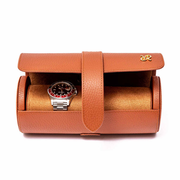 Rapport Berkeley Triple Tan Watch Roll D181