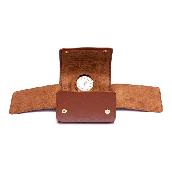 Rapport Berkeley Single Tan Watch Roll D191 - Hamilton & Lewis Jewellery