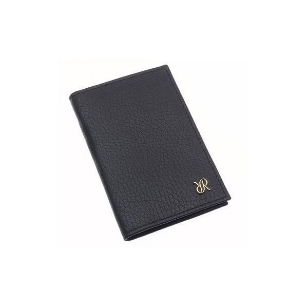 Rapport Sussex Black Leather Card Wallet F160 - Hamilton & Lewis Jewellery
