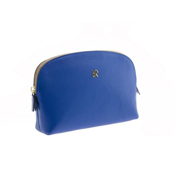 Rapport Large Blue Make Up Pouch F115 - Hamilton & Lewis Jewellery