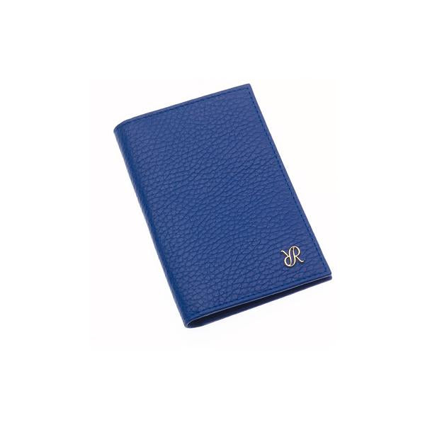 Rapport Sussex Blue Leather Card Wallet F165 - Hamilton & Lewis Jewellery