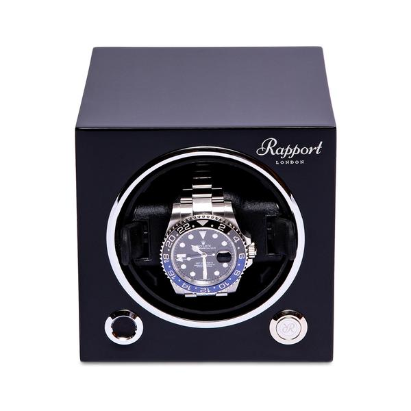 Rapport Single Black Winder EVO20 - Hamilton & Lewis Jewellery
