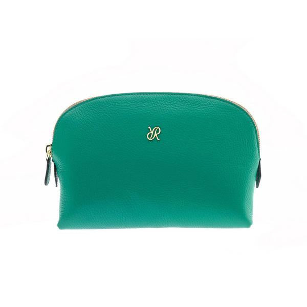 Rapport Large Green Make Up Pouch F117 - Hamilton & Lewis Jewellery