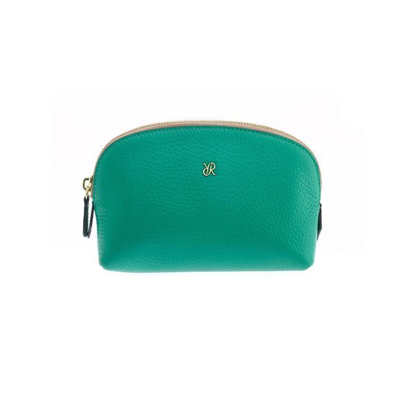 Rapport Small Green Make Up Pouch F107 - Hamilton & Lewis Jewellery