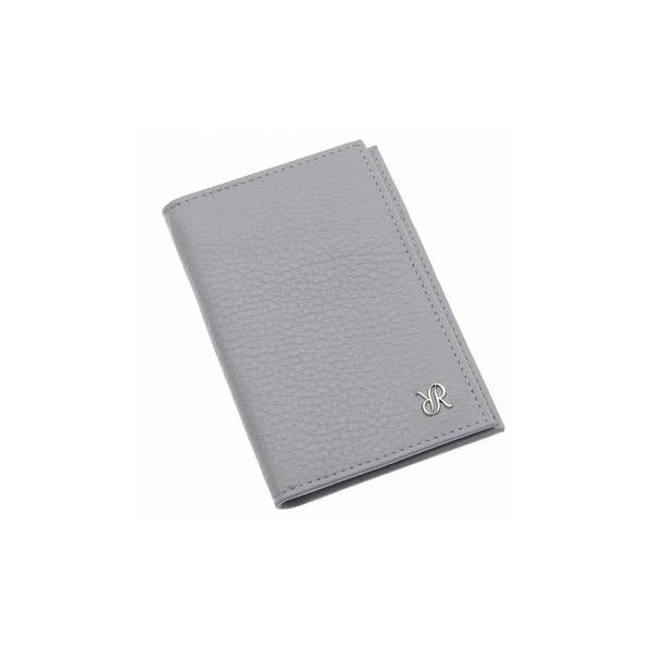 Rapport Sussex Grey Leather Card Wallet F169 - Hamilton & Lewis Jewellery