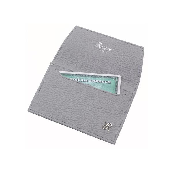 Rapport Sussex Grey Card Wallet F159 - Hamilton & Lewis Jewellery