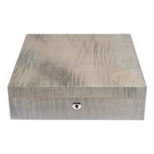 Rapport Heritage Grey 8 Watch Box L416 - Hamilton & Lewis Jewellery