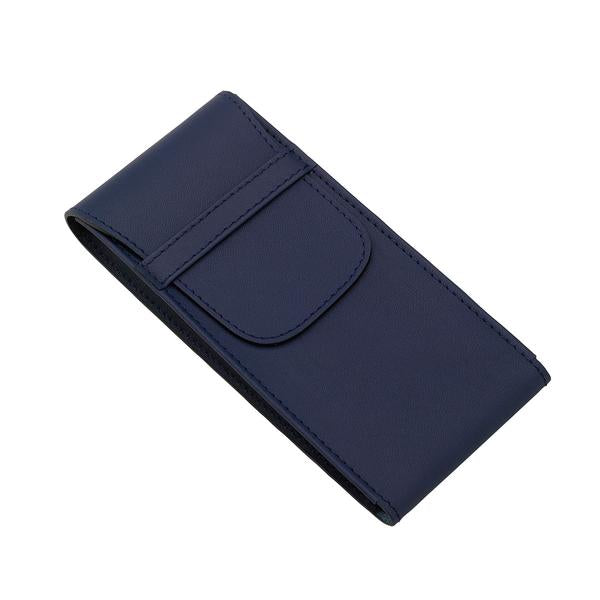 Rapport Single Navy Watch Roll Pouch D288 - Hamilton & Lewis Jewellery