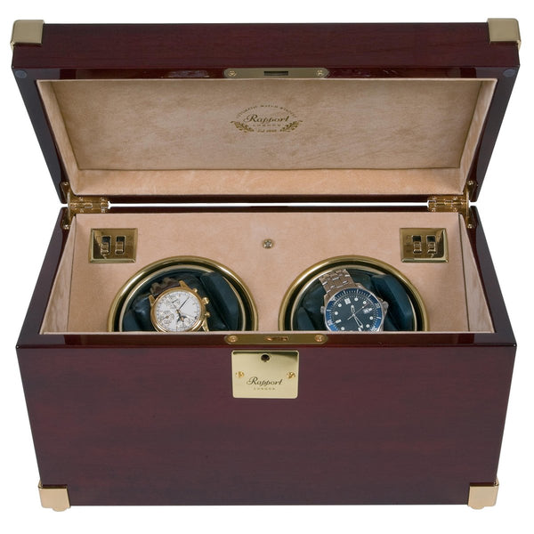 Rapport Captains Duo Watch Winder W272