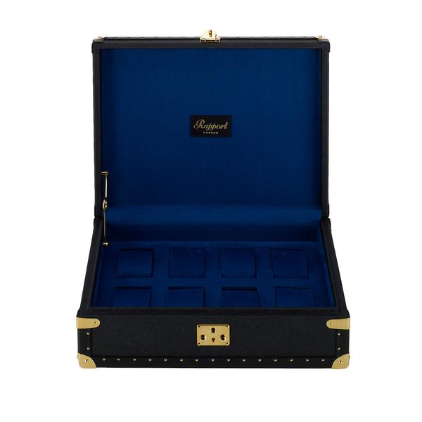 Rapport Berkeley Navy 8 Watch Box L315 - Hamilton & Lewis Jewellery