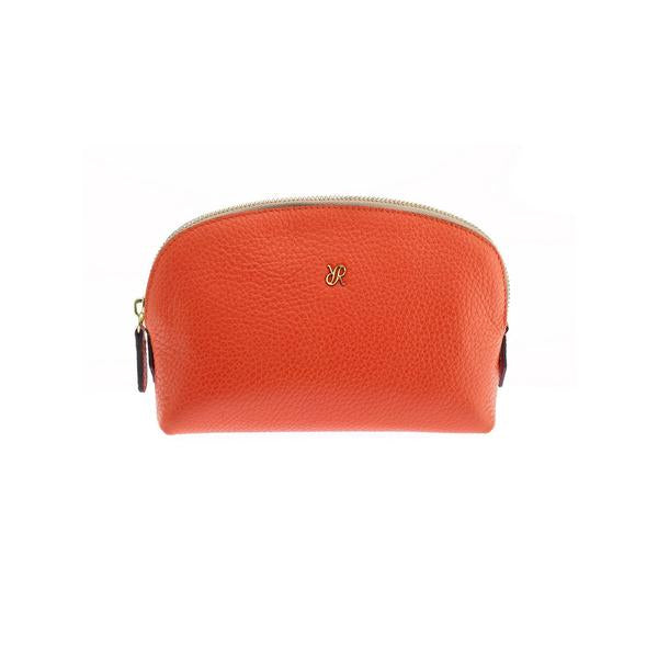 Rapport Small Orange Make Up Pouch F106 - Hamilton & Lewis Jewellery