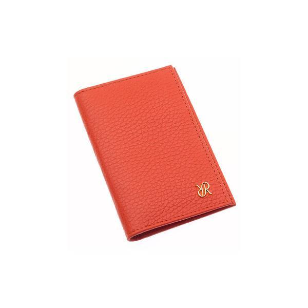 Rapport Sussex Orange Leather Card Wallet F166 - Hamilton & Lewis Jewellery
