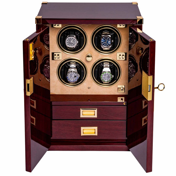 Rapport Quad Mariners Chest Watch Winder W284