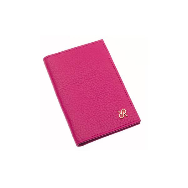 Rapport Sussex Pink Leather Card Wallet F168 - Hamilton & Lewis Jewellery
