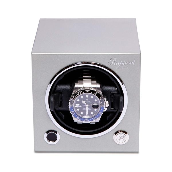 Rapport Single Platinum Silver Winder EVO25 - Hamilton & Lewis Jewellery