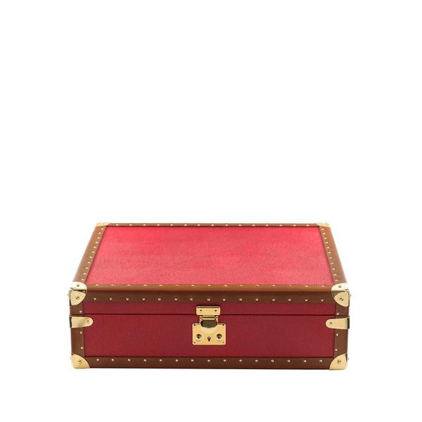 Rapport Berkeley Red 8 Watch Box L314 - Hamilton & Lewis Jewellery