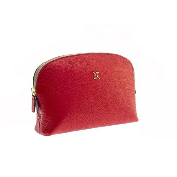 Rapport Large Red Make Up Pouch F114 - Hamilton & Lewis Jewellery