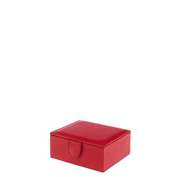 Rapport Sussex Red Jewellery Trinket Box F174 - Hamilton & Lewis Jewellery