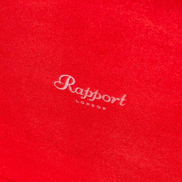 Rapport Heritage Quad Red Watch Box L420 - Hamilton & Lewis Jewellery