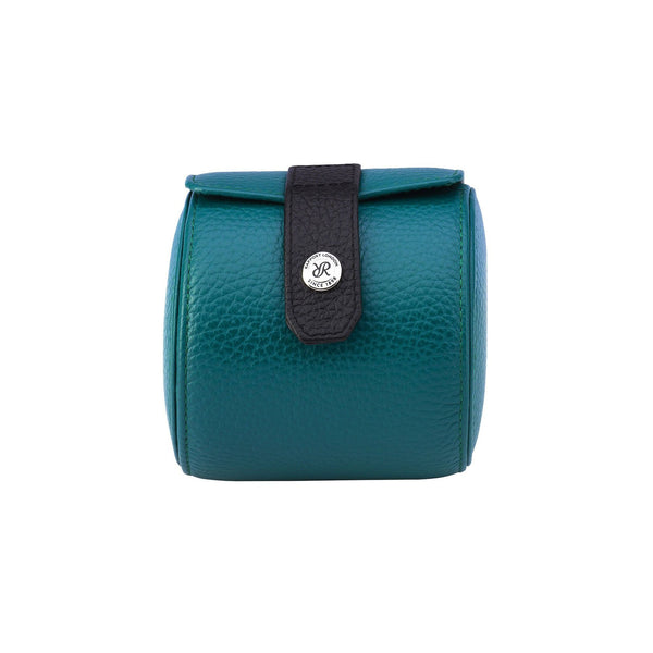 Rapport Cooper Single Teal Watch Roll D197